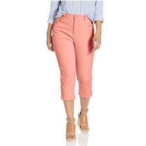 Vanderbilt Coral Amanda Capri plus size pant 24w